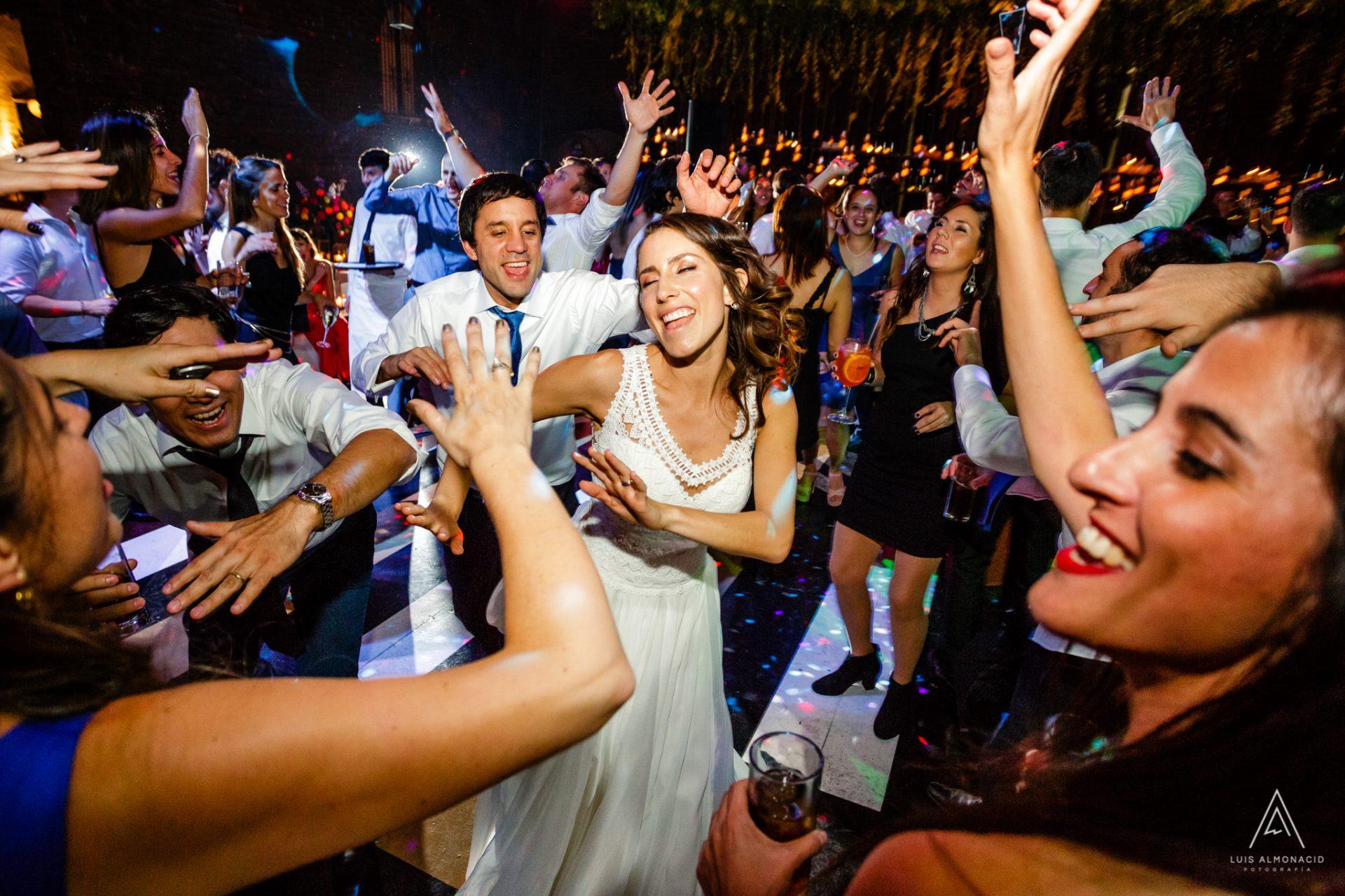 foto matrimonio viña santa carolina